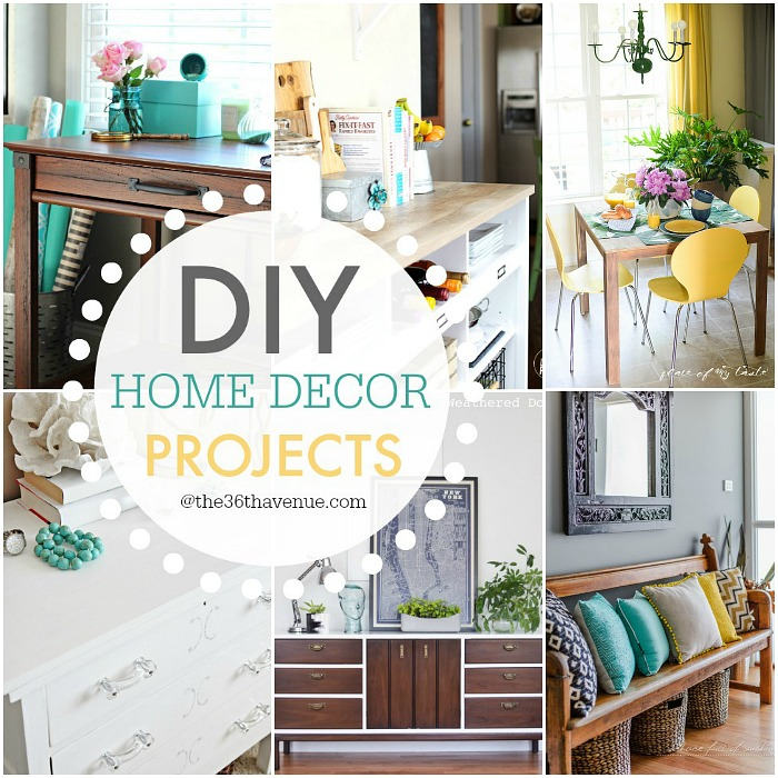 Home Decor Diy Projects: DIY Home Decor Projects And Ideas
