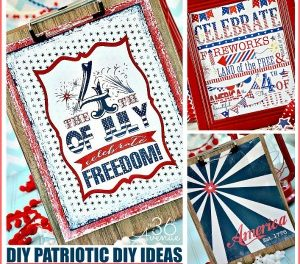 Patriotic Ideas – Fourth Of July