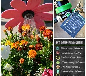 Gardening Tips – DIY Flower Hose and Printable