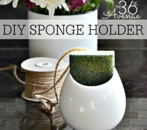 DIY Home Projects – Sponge Holder