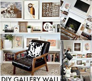 Home Decor – DIY Gallery Wall