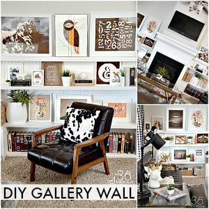 Home Decor – DIY Gallery Wall