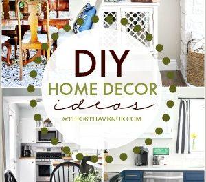 Home Decor DIY Ideas