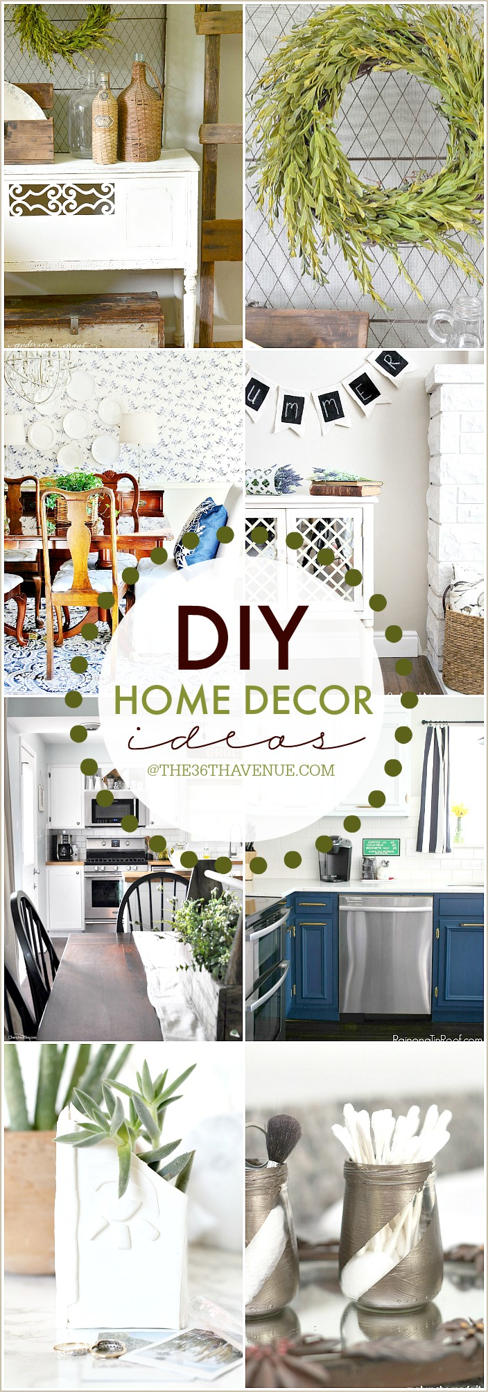 DIY Home Decor Ideas at the36thavenue.com Pin it now and decorate later!