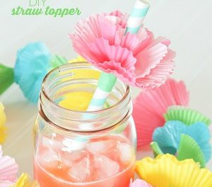 Crafts – DIY Straw Toppers