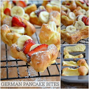 Easy Recipes – German Pancake Bites
