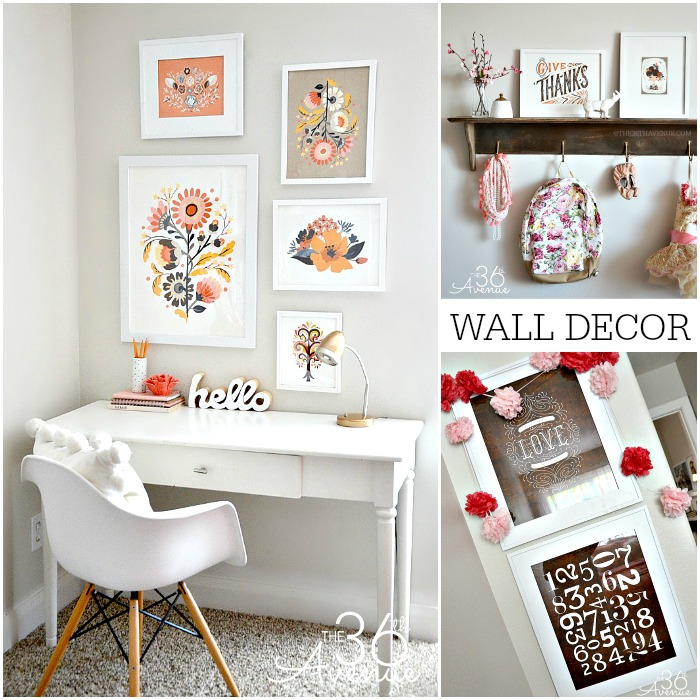 The 36th Avenue Home Decor Dressing Up The Walls The