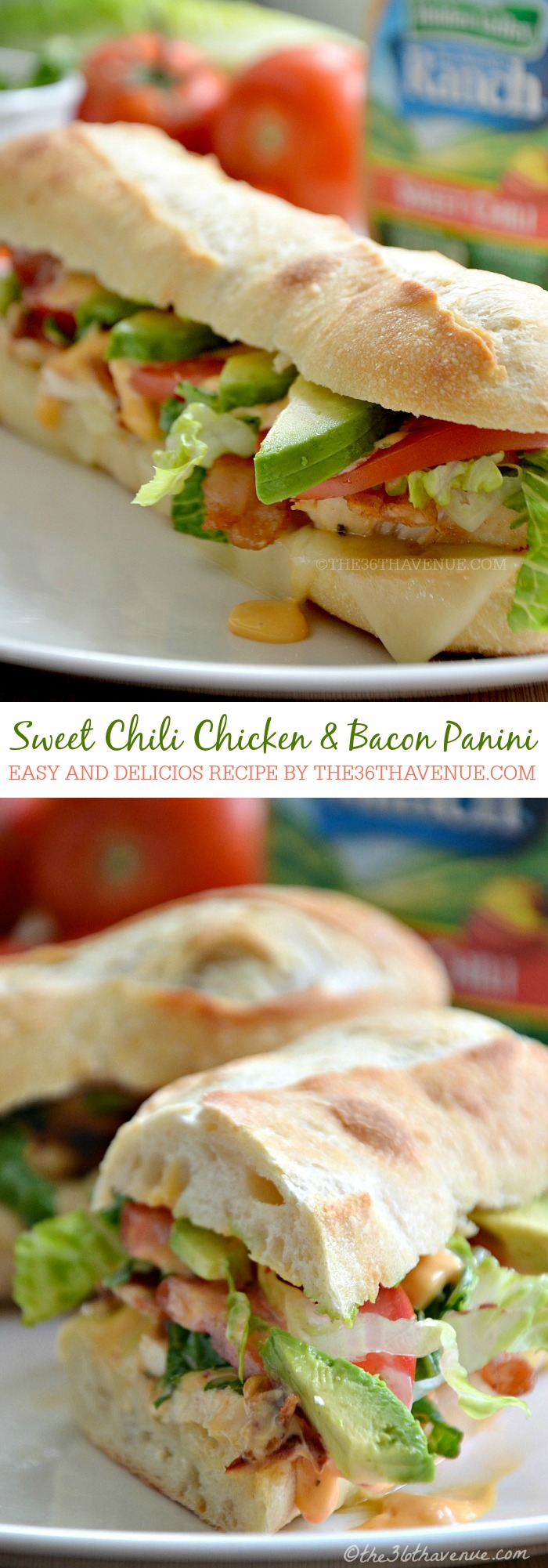 Recipes - Sweet Chili Chicken and Bacon Lettuce Wrap at the36thavenue.com ...Pin it now and make it later!