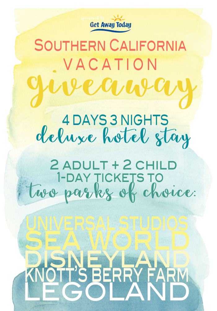 Southern California Vacation Giveaway at the36thavenue.com