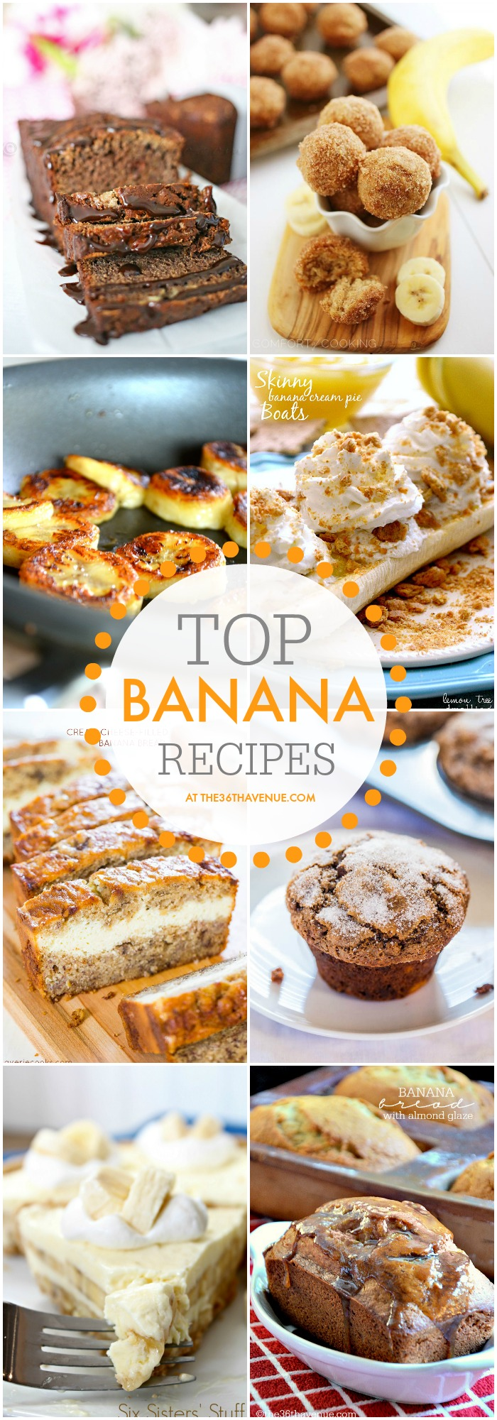 Top Banana Recipes at the36thavenue.com