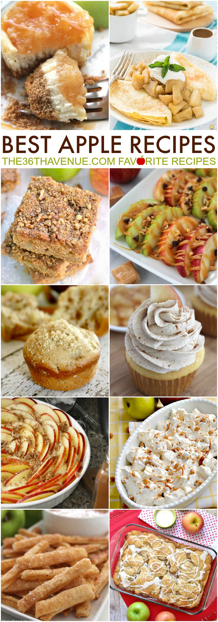 Best Apple Recipes at the36thavenue.com