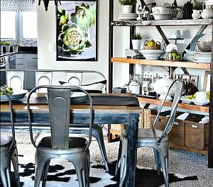 Dining Room Decor – Industrial Design