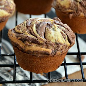 Nutella Banana Muffins Recipe