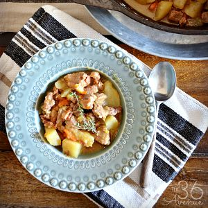 One Pan Pork Stew Recipe
