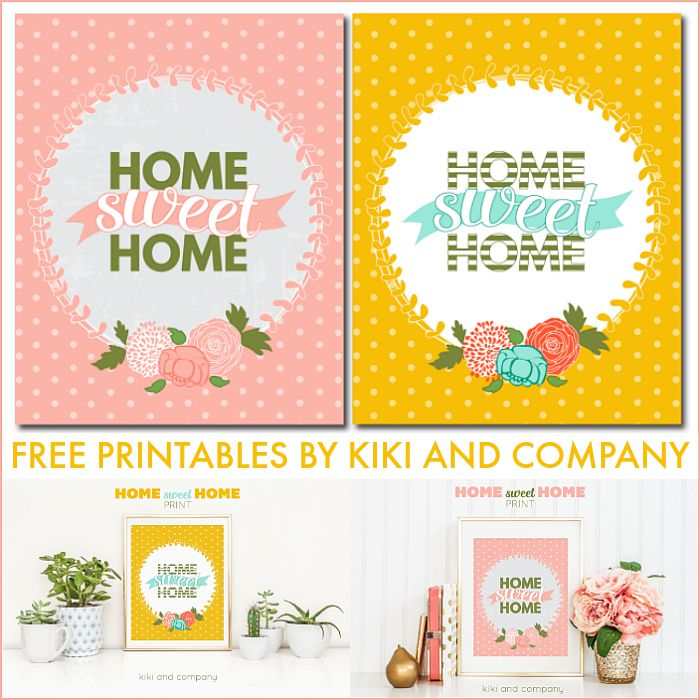 photo relating to Free Printables for Home called Printable - Property Cute Residence - The 36th Street