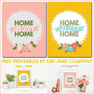 Printable – Home Sweet Home