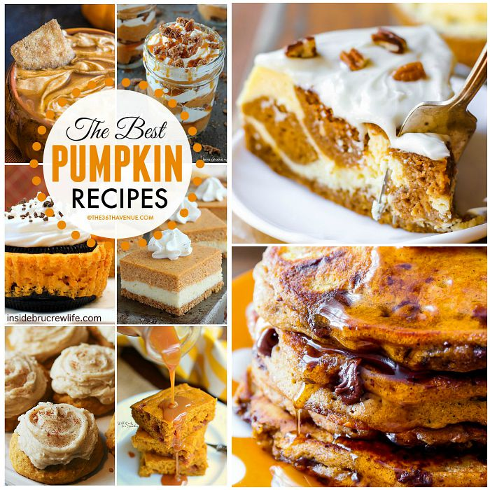 Pumpkin Recipes FB at the36thavenue.com