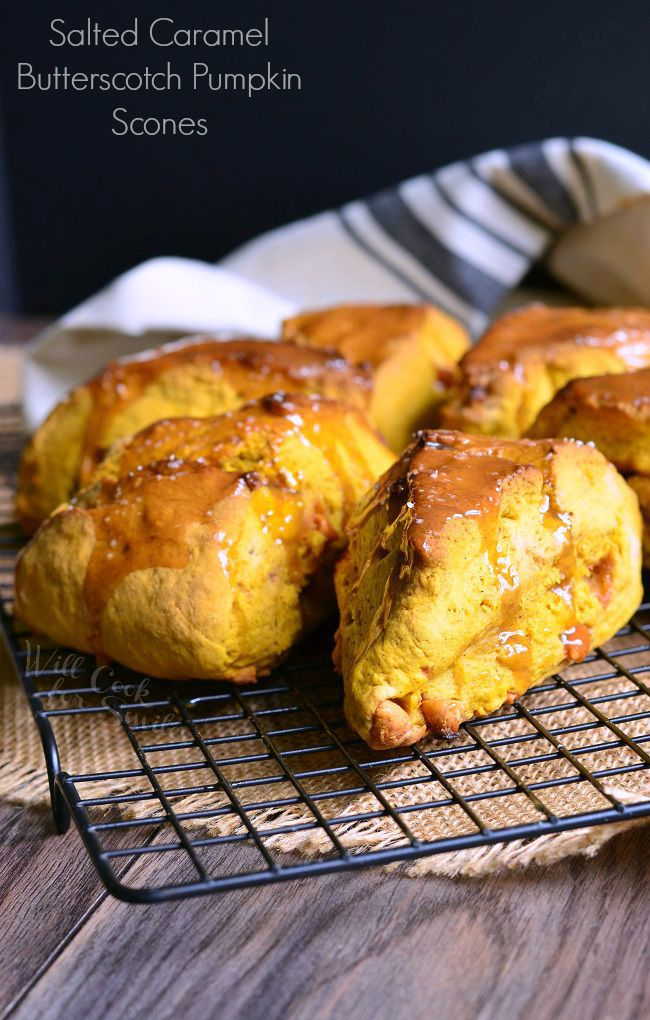 Salted-Caramel-Butterscotch-Pumpkin-Scones-2-willcookforsmiles.com_