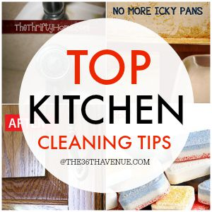 Top Kitchen Cleaning Tips
