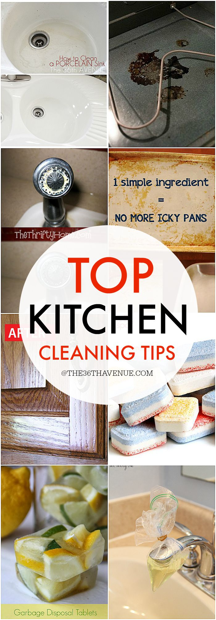 Top Kitchen Cleaning Tips - PIN IT NOW AND CLEAN LATER!