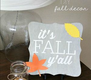 DIY Fall Sign Tutorial