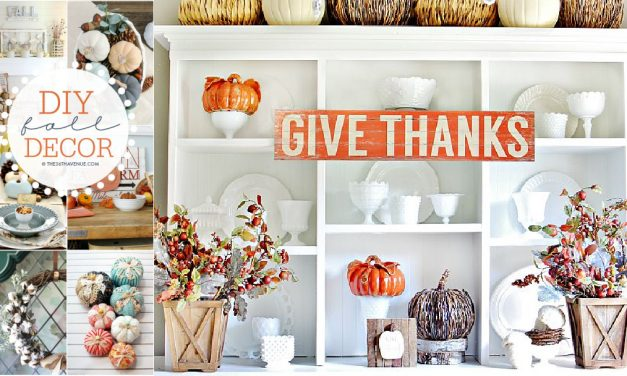 Fall Decor DIY Ideas