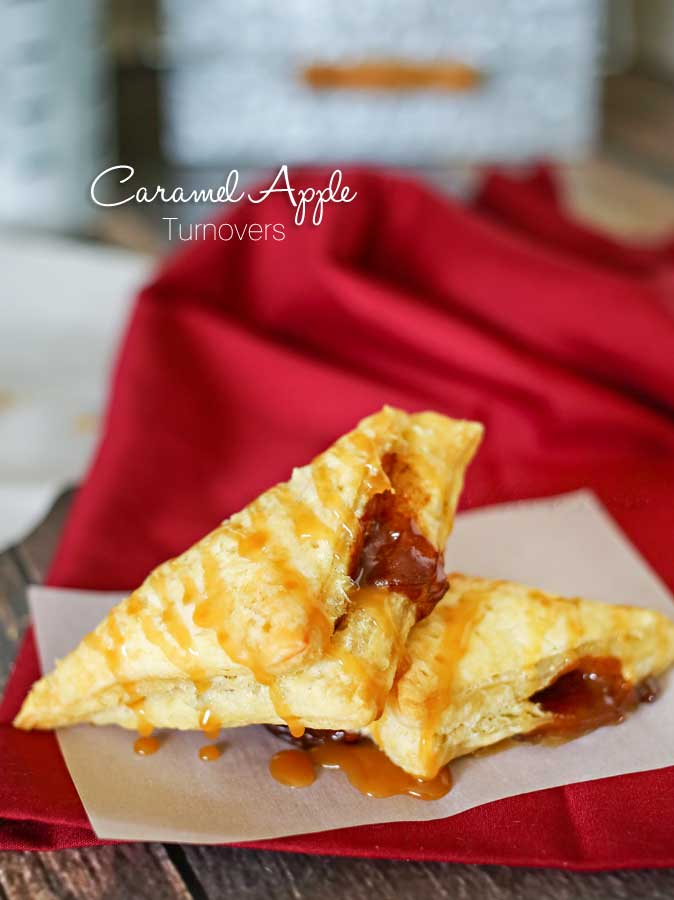 Recipes - Caramel Apple Turnovers Recipe... These are delicious!