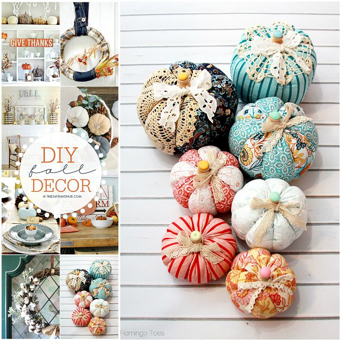 Diy Fall Decor Ideas By The36thavenue