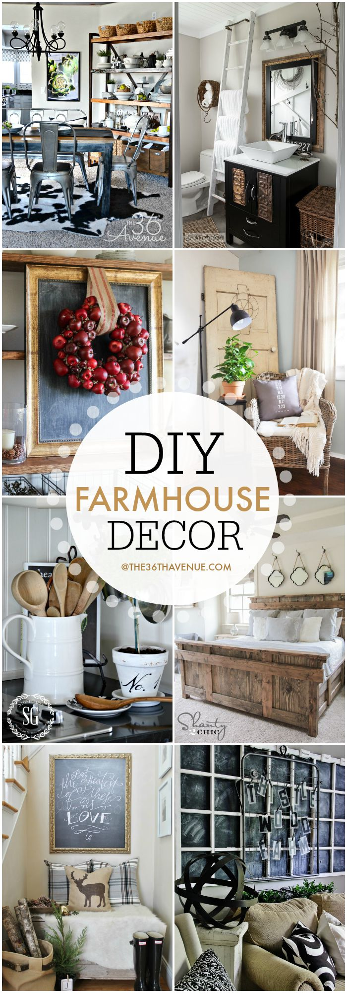 DIY Farmhouse Decor at the36thavenue.com