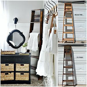 DIY Project – Ladder Makeover
