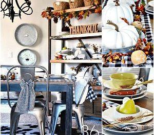 Fall Decor – Dining Room