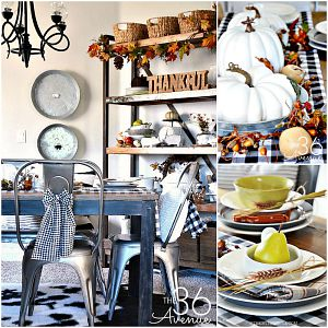 Fall Decor – Dining Room