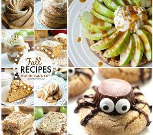 Fall Recipes – Desserts and Treats