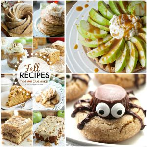 Fall Recipes – Desserts and Treats