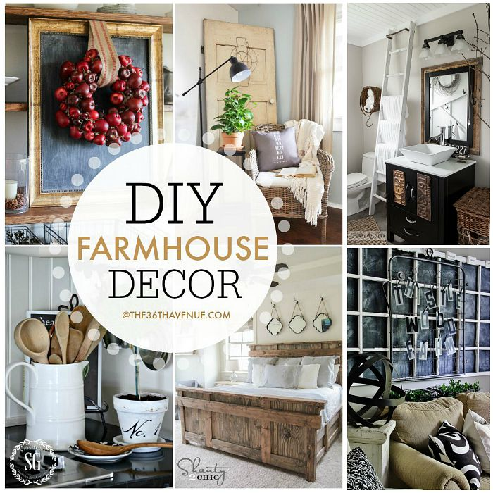 A Guide To Using Pinterest For Home Decor Ideas: Farmhouse Home Decor Ideas
