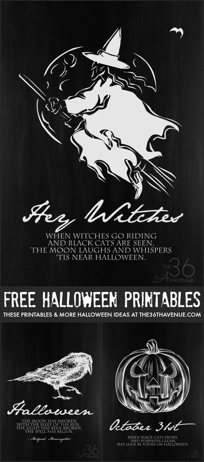 Halloween Printable Set at the36thavenue.com.jpg
