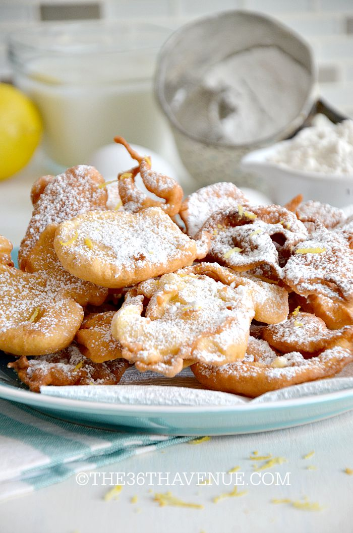 Fried Dough Recipe... Such a yummy treat! Read more here https://www.the36thavenue.com/fried-dough-recipe/ ‎