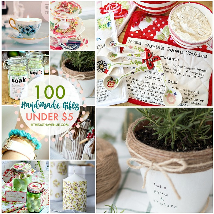 Over 100 Handmade Gifts That Are Perfect For Christmas Birthday Presents And Mothers