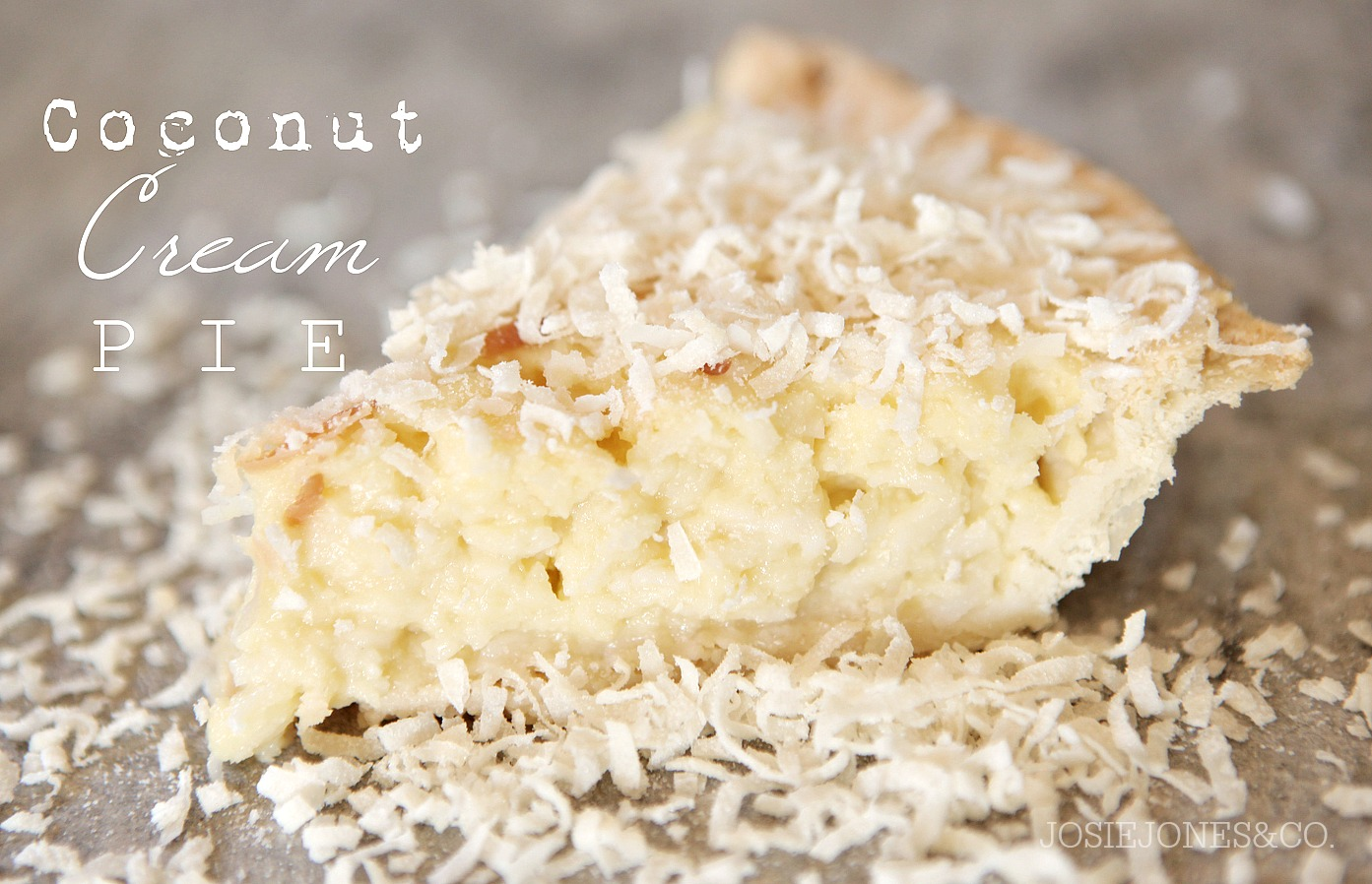 Easy Pie Recipe - This Coconut Cream Pie is perfect for Thanksgiving or any other day when a yummy dessert sounds great! Pin it now and make it later!