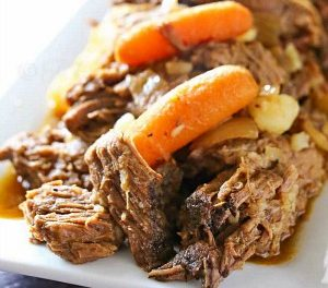 Crock Pot Rump Roast Recipe