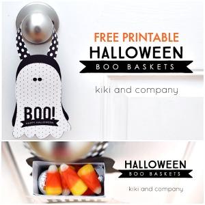 Halloween Printable – Treat Basket