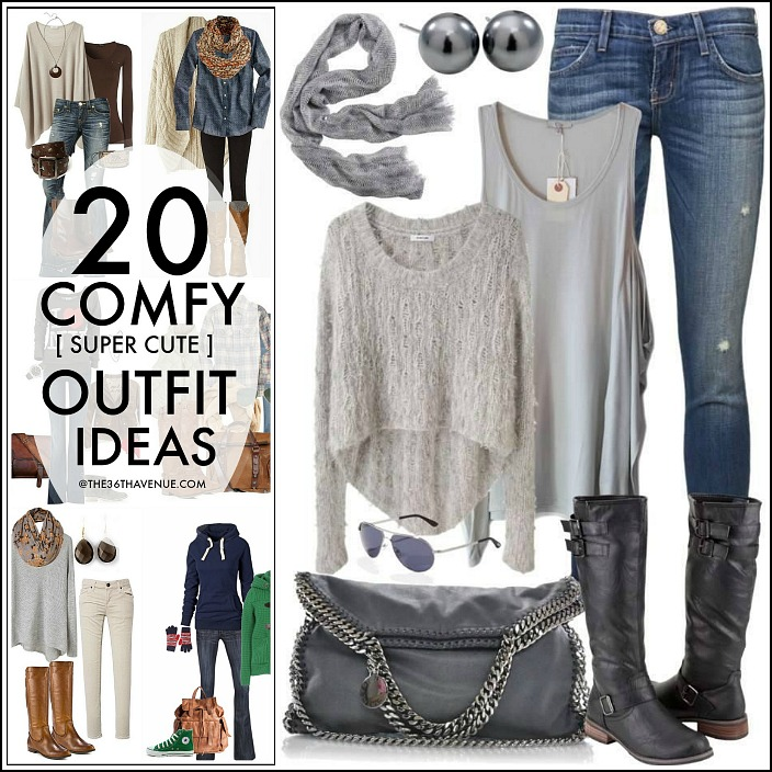 156bce8c246 Fall Fashion - 20 Fashion Outfits that you can put together with cardigans