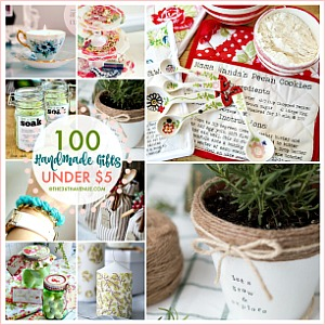 100 Handmade Gifts Under Five Dollars