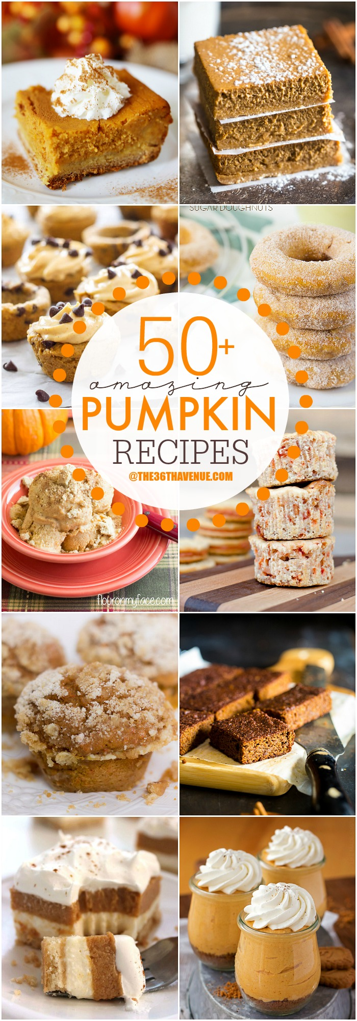 Pumpkin Recipes for Fall the36thavenue.com