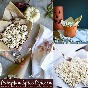 Pumpkin Spice Popcorn Recipe