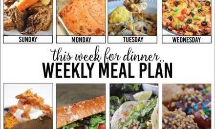 Weekly Meal Plan – Week Two
