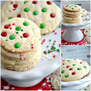 Christmas Cookies – Funfetti Cookies