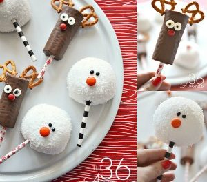 Christmas Treats – Reindeer and Snowman