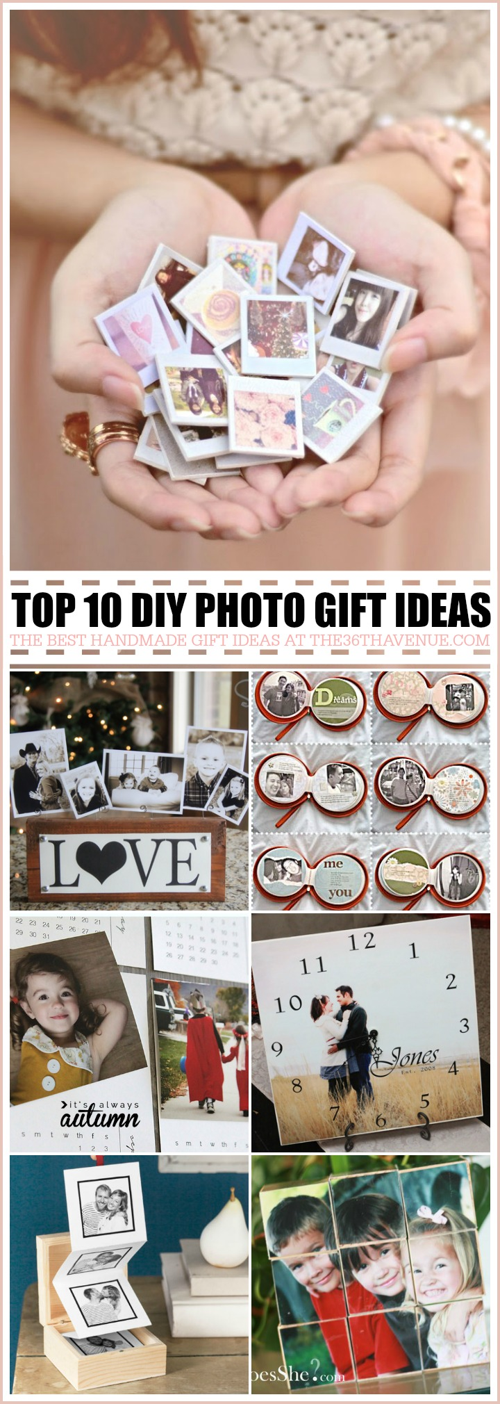 Handmade Gifts Photo Ideas At The36thavenue