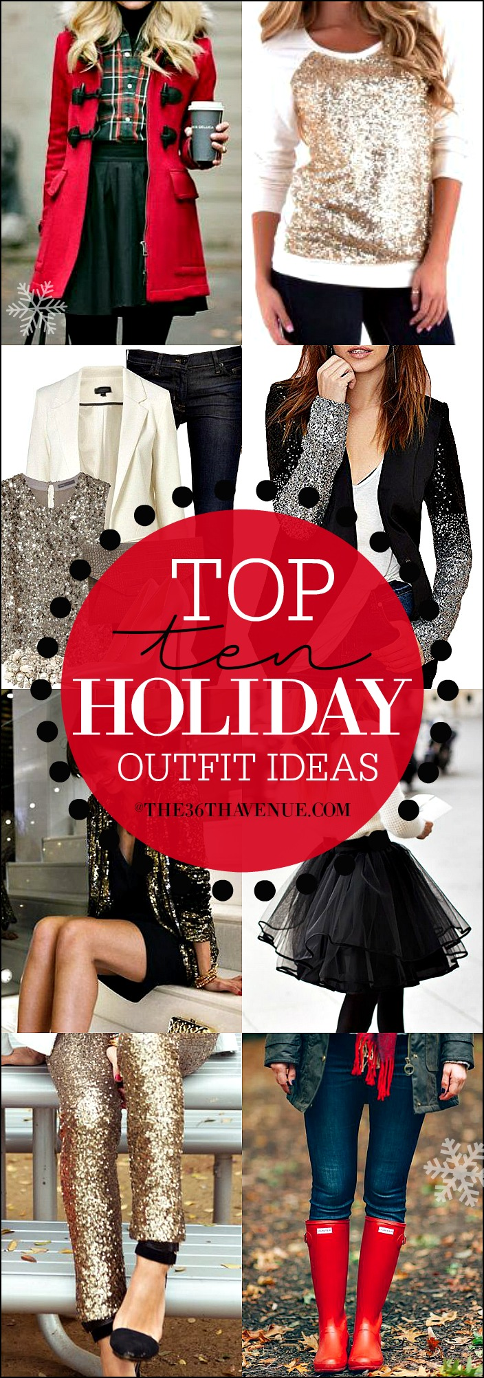 Holiday Outfit Ideas at the36thavenue.com